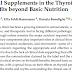 Nova revisão demonstra o papel dos suplementos alimentares nas condições da tireoide