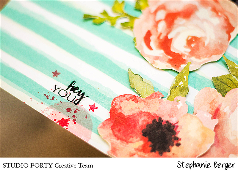 Stephanie Berger - Scrapbooking - Studio Forty - Hugs and Kisses