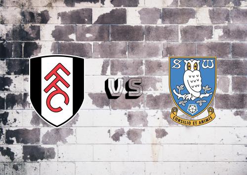 Fulham vs Sheffield Wednesday  Resumen