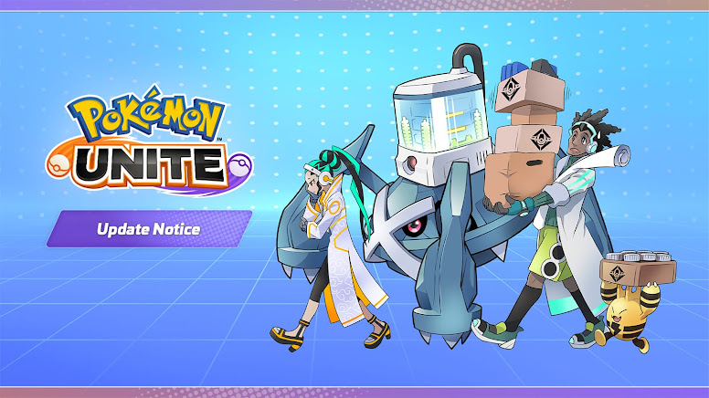 Pokémon Unite - Notas de Atualização
