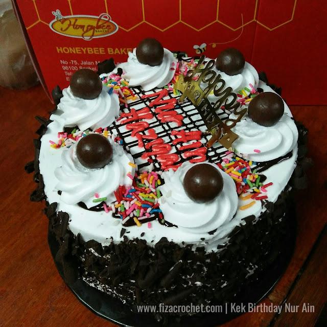 Kek birthday 5 tahun