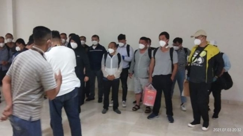 Parah! TKA China Masuk Sulawesi Selatan Belum Kantongi Izin Kerja