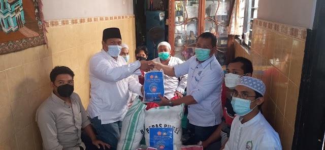 POLDA BALI Peduli Masyarakat Cinta Masjid Indonesia (MCMI)  Terdampak PPKM Darurat