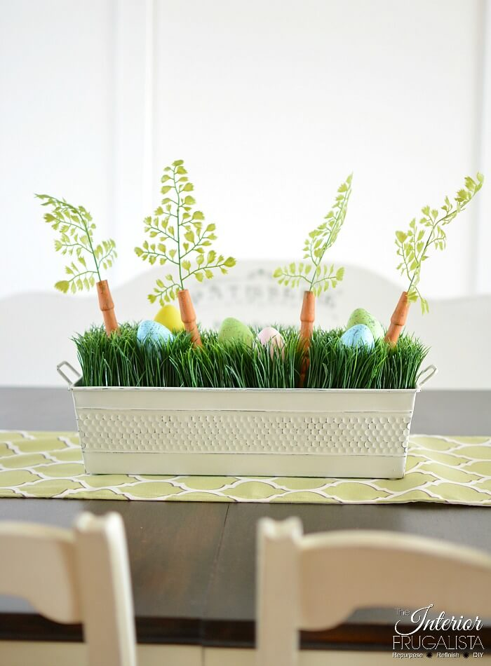 Upcycled Easter Centerpiece Box
