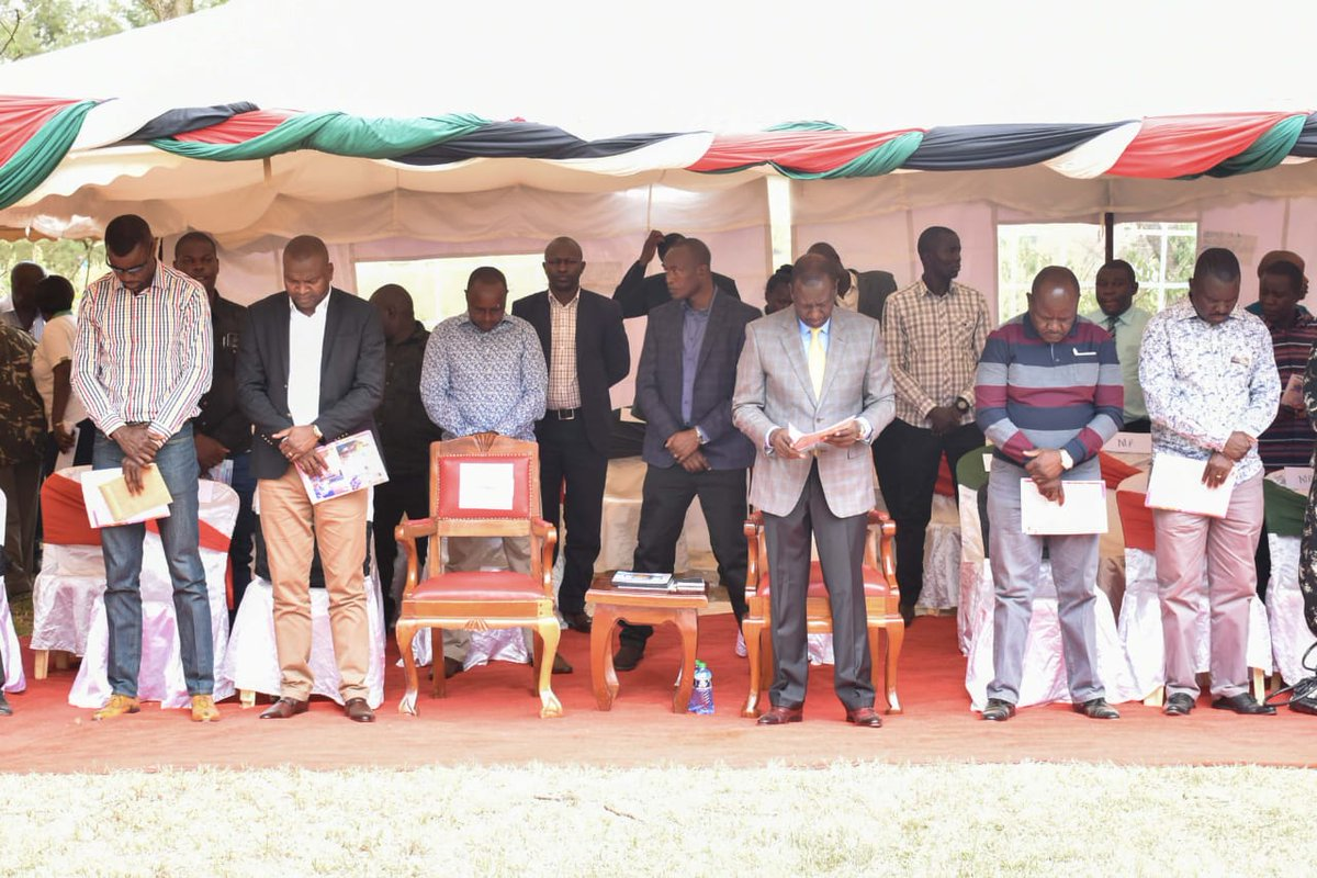 DP Ruto Does The Unthinkable, Wipes The Tears Of Cane Farmers