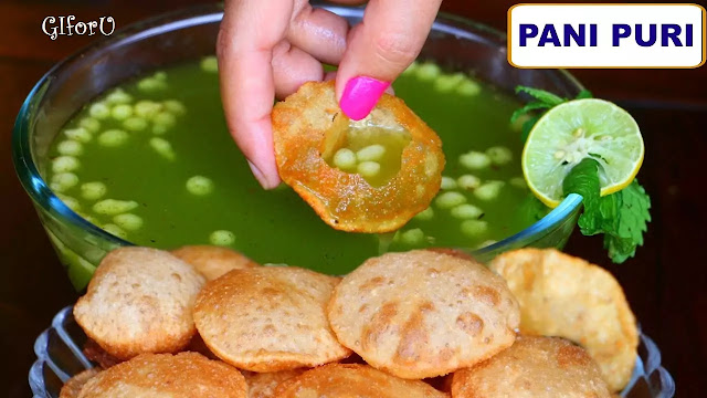 Gol Gappa Recipe - Pani Puri Recipe- How to make Gol Gappa Recipe - Pani Puri Recipe at GIforU