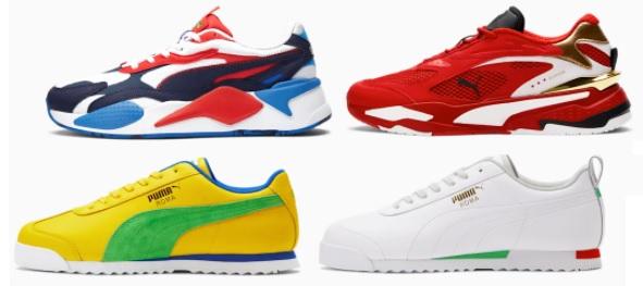 Puma Athletic Sneakers
