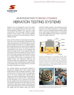 Sentek Dynamics Vibration Testing Systems