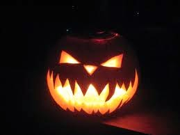 Scary Simple Pumpkin