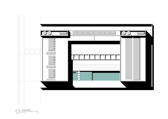 Projeto Casa Ribas criado pelo Estúdio MRGB - Planta de Coberta