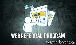 earn money by web referral program