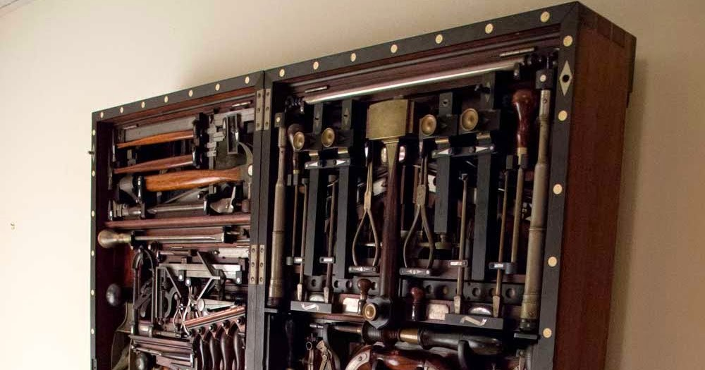 Under The Mountain Woodworks Wall Hanging Tool Cabinet