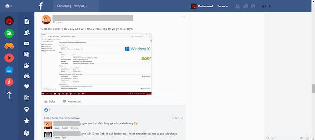 Flatbook, Cara Mempercepat dan Mempercantik Tampilan Facebook!