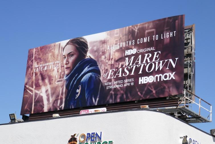 Mare of Easttown series premiere billboard