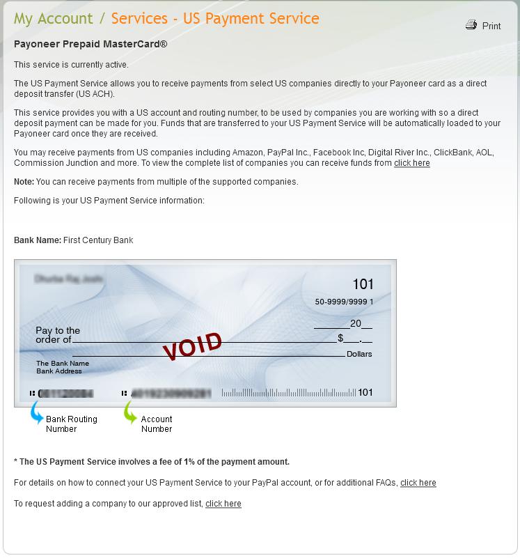Get MasterCard + US Bank Account for Free & 25$ Free Bonus