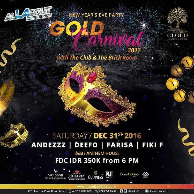 New Year Eve 2017 / 2018 in Jakarta | Jakarta100bars
