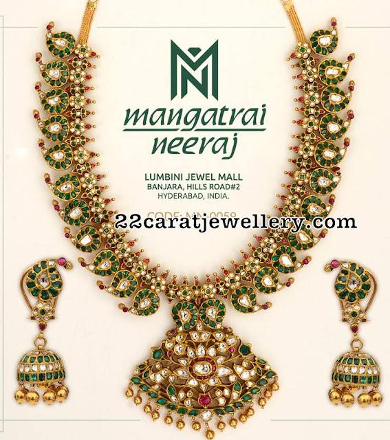 Emerald Mango Mala by Mangatrai Neeraj