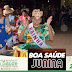 Chicó e Perpétuo participaram do Boa Saúde Junina