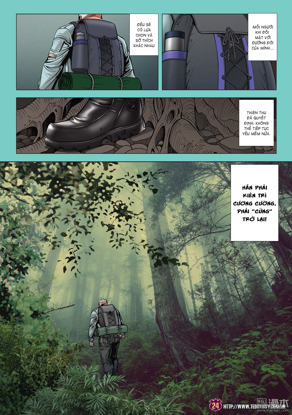 ... Người Trong Giang Hồ RAW-Chapter 2048 page 22 ...