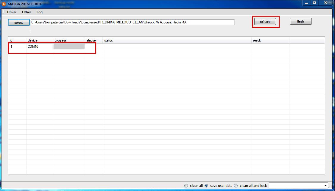 cara bypass mi account xiaomi redmi 4A atau cara bypass mi cloud xiaomi redmi 4a dan fix sensor redmi 4A