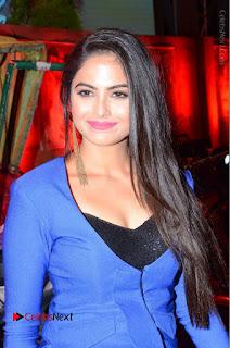 Actress Naina Ganguly Stills in Blue Dress at RGV Shiva to Vangaveeti Event  0016.JPG