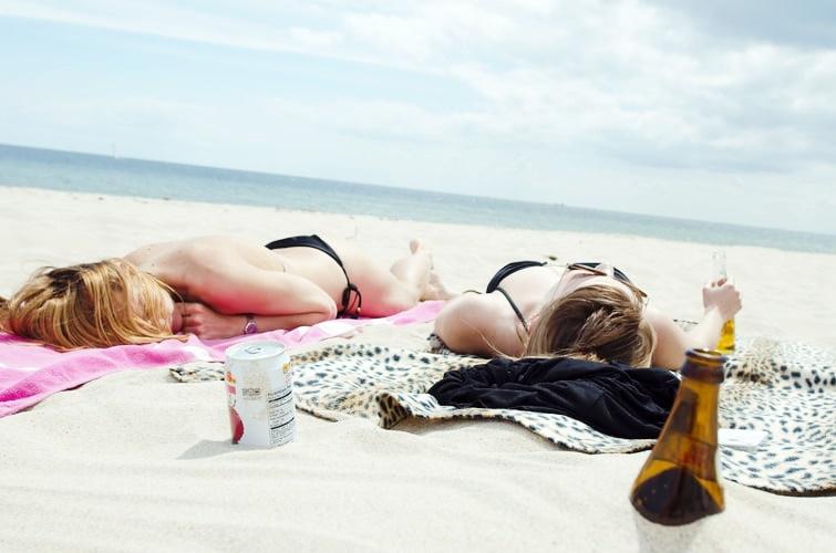 Papka ze świeżych ogórków na ból po opalaniu, sposób na oparzenia słoneczne