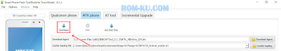 AFTool Download menu