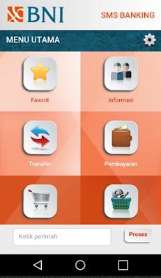 Aplikasi sms banking bni