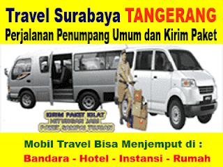TRAVEL JURUSAN SURABAYA TANGERANG