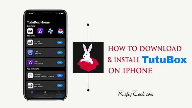 كيفية تحميل  وتثبيت TuTuBox على أجهزة  iPhone