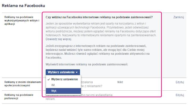 Zbieranie informacji przez facebooka pixel kliknięcia polubienia