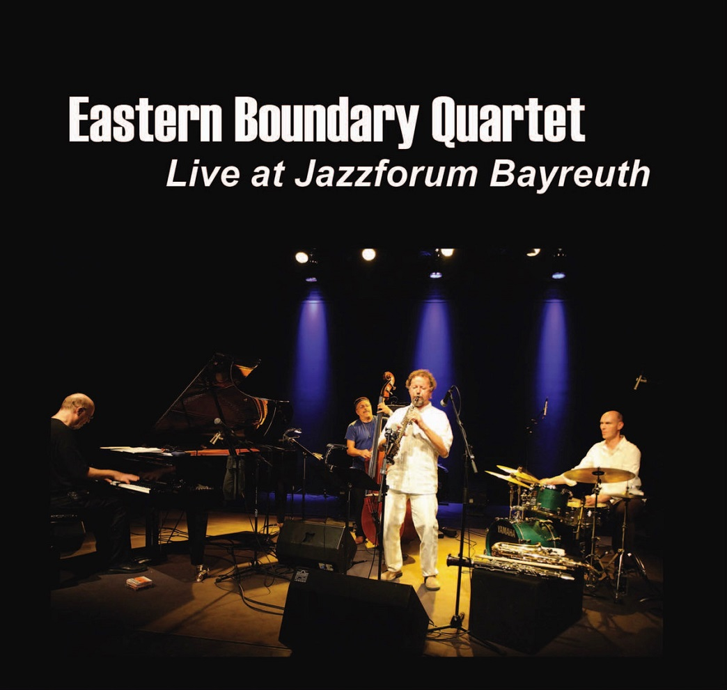Jazzforum Bayreuth, Germany is the location of this 2016 performance by the  Eastern Boundary Quartet featuring Balazs Bagyi (drums), Mihaly Borbely  (sax, ...