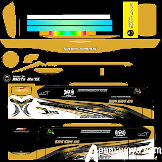 Livery Kupu Kupu Ayu Bussid Terbaru JB3+ Versi SHD