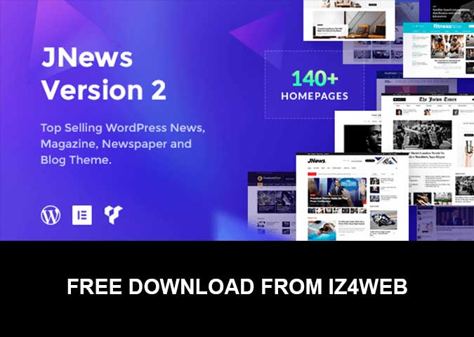 Free Download JNews v3.1.0 – WordPress Newspaper Magazine Blog AMP Theme bản cập nhật 19.9.2018.