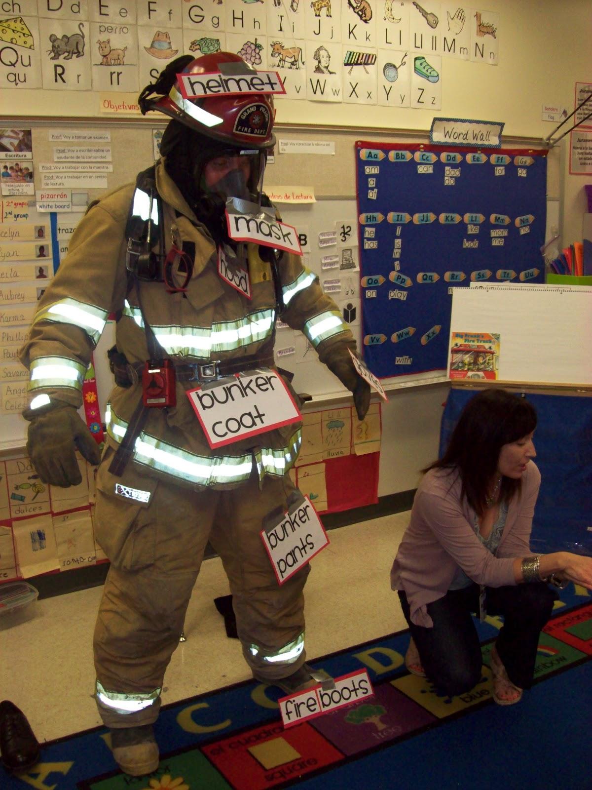 Chalk Talk A Kindergarten Blog Label It A Real Fireman