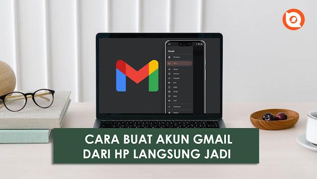 cara buat email dari hp langsung jadi