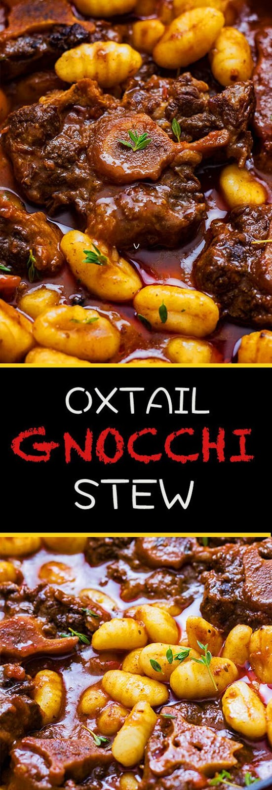 New Oxtail and Gnocchi Stew