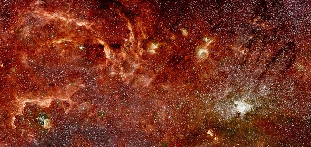 Milky Way Galaxy in the Infrared