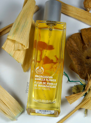 flor de vainilla de madagascar the body shop