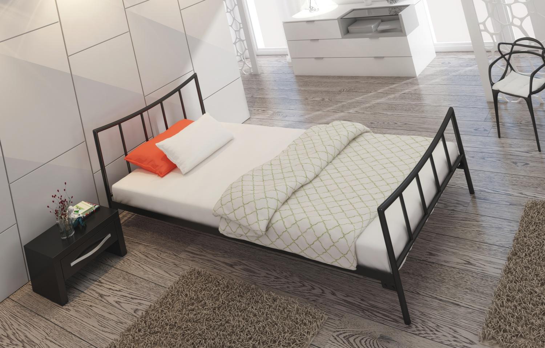 Łóżko metalowe wzór 12