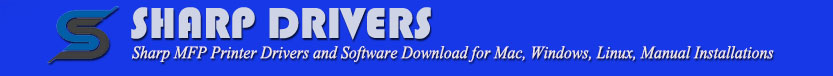Sharp Drivers Download