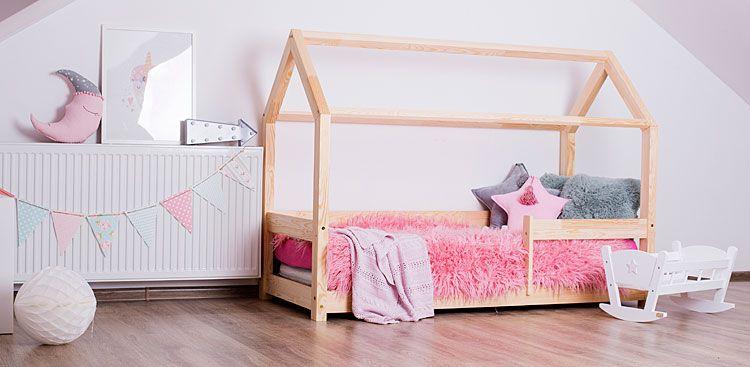 łóżko domek dla dziewczynki