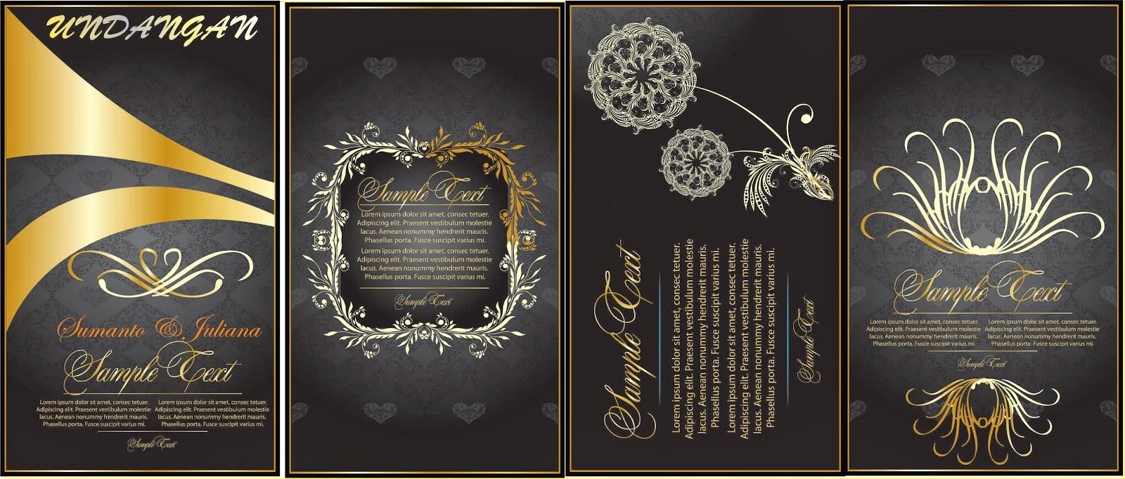 63 Gambar Desain Undangan Pernikahan Coreldraw X5 Terbaik Untuk Di Contoh