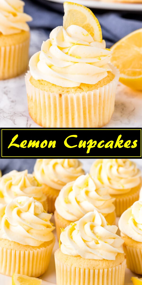 Lemon Cupcakes #cupcakerecipes