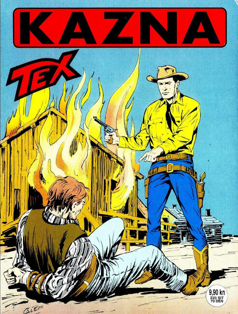 Kazna (SD) - Tex Willer
