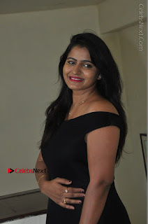 Telugu Actress Swathi Reddy Latest Stills in Black Gown  0044.JPG