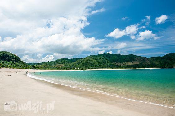 Pantai Indah di Lombok