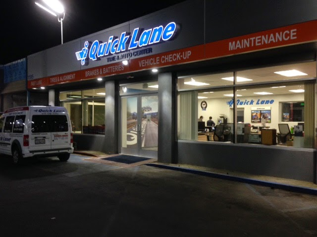 Quick Lane Tire and Auto Wall Graphic Prints | Banners.com