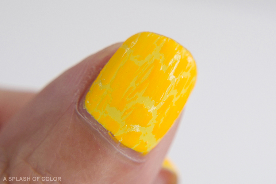 Rue Beauté by Color Club Orange Crackle