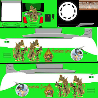 Berbagai Livery Bus Simulator Indonesia Part 5